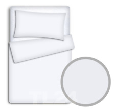 BABY BEDDING SET 120x90 PILLOWCASE DUVET COVER 2PC FIT COT 120x60 WHITE