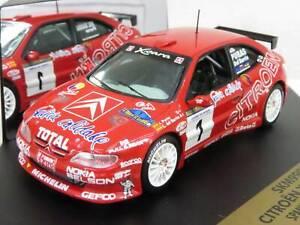 WOW EXTREMELY RARE Citroen Xsara Puras 1st Asturias 1998 WRC 1:43 Vitesse-Spark