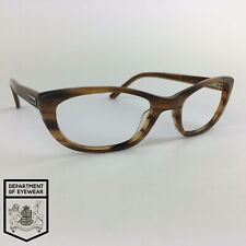 BARBOUR eyeglasses HORN EFFECT BROWN CATS EYE glasses frame MOD: B021 C2
