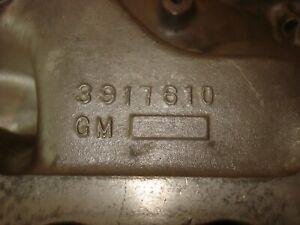1967 67 1968 68 CAMARO Z-28 ORIGINAL WINTERS ALUMINUM INTAKE 3917610 302/290HP