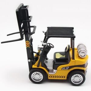 1:24 Scale Forklift Truck Diecast Model Car Toy Vehicle Sound & Light Kids Gift