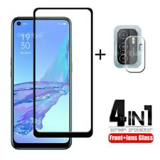 4-in-1 For OPPO A53 Glass For OPPO A53 Tempered Glass Full Glue Screen