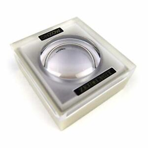 ONZOW ZERO DUST BLACK Stylus Cleaner & Magnifying Lid (Turntable Needle) NEW