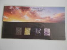2002 Machin Definitive Regionals All 4 Nations 68p Presentation Pack no 59 U/M