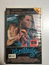 Windrider RARE Aussie VHS Movie Romance Nicole Kidman Nude Tom Burlinson