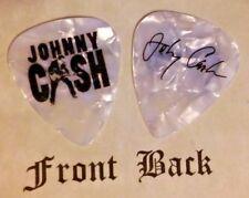 CASH - JOHNNY CASH - band logo signature guitar pick  -W