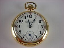 Antique Hamilton 946 18s Rail Road pocket watch 1905. High grade 23j. Nice case!