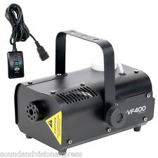 American DJ ADJ VF400 Smoke Fog Fogger Machine DJ Disco Party + Remote Light 2Kg