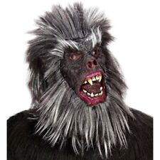 LATEX GORILLAMASKE Karneval Affenmaske Gorilla Affen Dschungel Kostüm Maske 8385