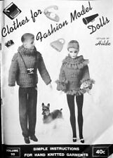 Clothes for Fashion Dolls Volume 99 by Hilde -1963-Knit Clothes for Barbie & Ken