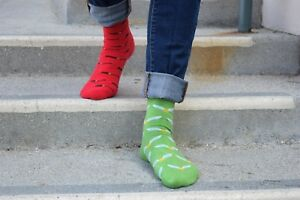 Harry Potter Dobby Christmas Dress Socks M/L Socks Wizard jacquard cotton