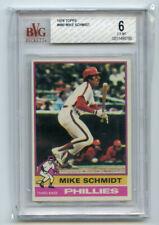 Mike Schmidt 1976 Topps #480 BVG 6 ABC3177