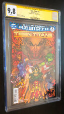 TEEN TITANS #1 (DC 2016) -- CGC SS 9.8 -- SIGNED By Jonboy Meyers