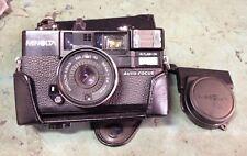 Minolta Hi-Matic AF2 Point & Shoot Camera 38mm 1:28 Lens  PARTS N REPAIR