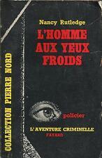 NANCY RUTLEDGE L'HOMME AUX YEUX FROIDS
