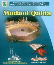 5 x Madani Qaidas ENGLISH Learn Tajweed & Correct Pronounciation Holy Quran New