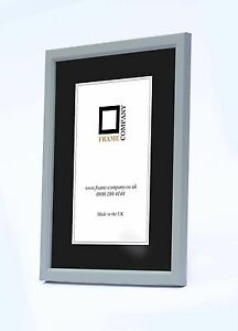 Picture Photo Frames Fitted With Glass Choice of 11 Colours By Frame Company