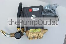 "4000 Psi Ar Rrv4G40 1"" Pressure Washer Pump Replaces Cat General Comet 1"" Rrv"