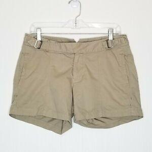Ibex Organic Cotton Hemp Hiking Shorts 6 Khaki