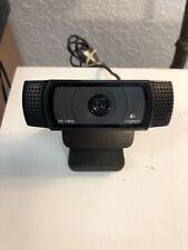 Logitech HD Pro Webcam HD 1080p Used