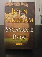 Sycamore Row By John Grisham First Edition