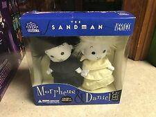 THE SANDMAN MORPHEUS & DANIEL PLUSH TOYS SET VERTIGO DC DIRECT NEIL GAIMAN MIB