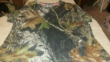 Women's Mossy Oak Breakup Camo short Sleeve Shirt medium
