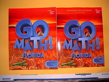 Go Math! Florida Student Edition & Practice Book Grade 2 @2015
