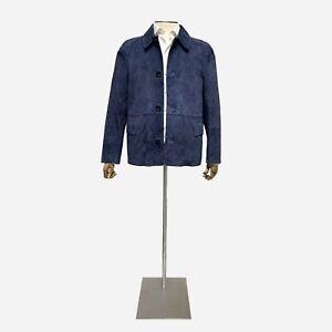 Dunhill Suede Jacket, Size 44 UK, 54 EU, XXL