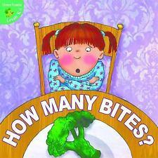 How Many Bites? (Little Birdie Books: Green Reader, Levels K-1)