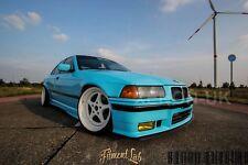 BMW E36 Sedan 4dr F+R Overfenders Fitment Lab WideBody Drift