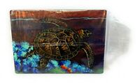 Limited Edition-Eastern Box Turtle Lithograph Art by Kirk Ohara (Mouthpainter)