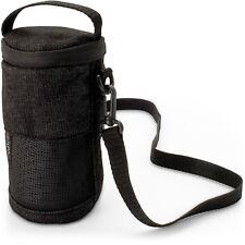 Black Fabric Travel Carrying Bag for Bose SoundLink Revolve Bluetooth Speaker