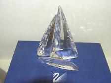 Cristal de Swarovski en caja original yate 619436 Vela leyenda retirado Raro