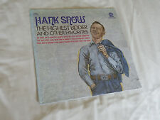 "Hank Snow - "" The Highest Bidder & Other Favorites"" : ACL-7044"