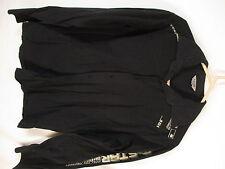 G Star Raw Mens Black Long Sleeve Cotton Shirt M Italy Made