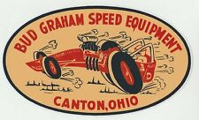 Bud Graham Speed Equipment Canton, Ohio large decal