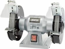 Draper 150MM  Bench Grinder 150W 230V + Eye Protection Shields Spark Deflector
