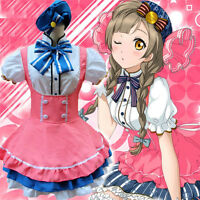 Love Live Minami Kotori Cosplay Costume Candy Lolita Princess Maid Dress Outfit