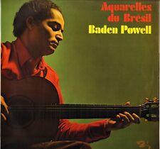 """BADEN POWELL """"AQUARELLES DU BRESIL"""" GUITARE BOSSA NOVA 70'S LP BARCLAY 80416"""