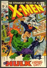 New listing X-Men #66 - Last New Story With Original X-Men - Hulk App - Marvel (1970) Fn/Vf