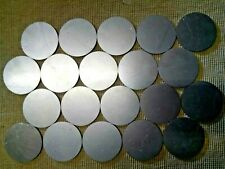 20x 70mm Round 3mm Laser Mild Steel Cut Discs. Disc Offcuts. Welding Project.