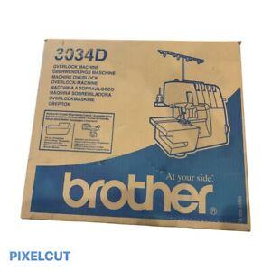 Brother 3034D Overlocker Machine, Brand New, Free Shipping In Australia
