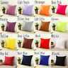 "Square Home Office Sofa Pillow Cover Case Cushion Cover Size 16"" 18"" 20"" 22"" 24"""