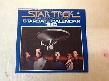 Star Trek The Motion Picture Stardate Calendar 1980 Wallaby 1979 Paramount BNT