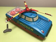 SPACE CRUISER MS 881 RARE CLOCKWORK WIND-UP TOY VINTAGE MADE IN CHINA RARE