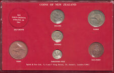 New Zealand 1964 Coins