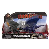 How To Train Your Dragon Hiccup Toothless Vs Armoured Dragon 3+ Toy Dinosaur Fun