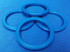 (M04 A) 4x  Zentrierringe 72,2 / 57,1 mm blau für Alufelgen