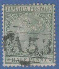 JAMAICA 16 1883 A53 OBLITERATOR 5.5 MM HIGH MAY HILL OR SPUR TREE CANCEL ! RARE